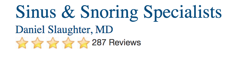 Sinus & Snoring Specialists Reviews