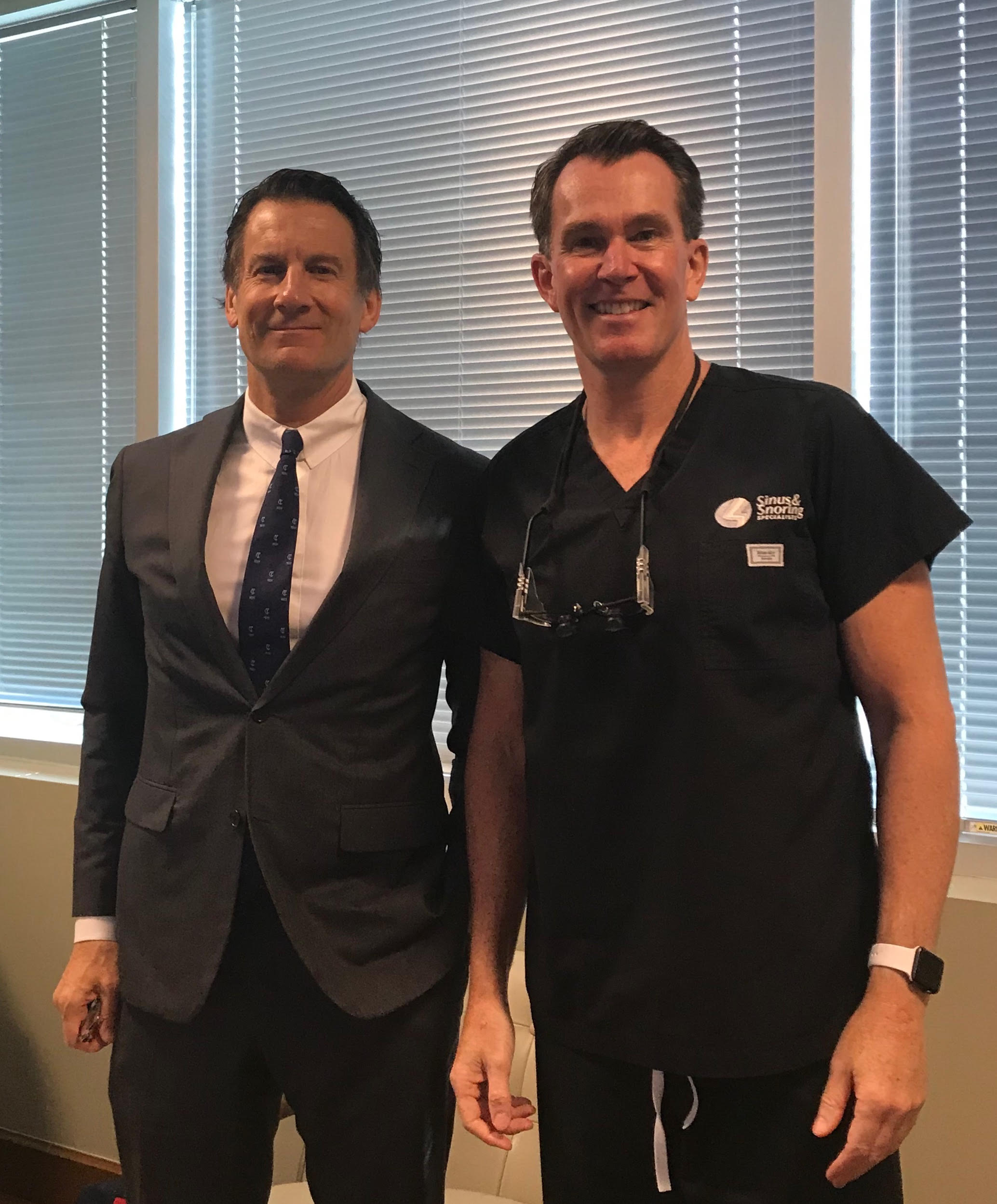 Dr. C. Bart Dickson observes Dr. Slaughter | Sinus & Snoring Specialists